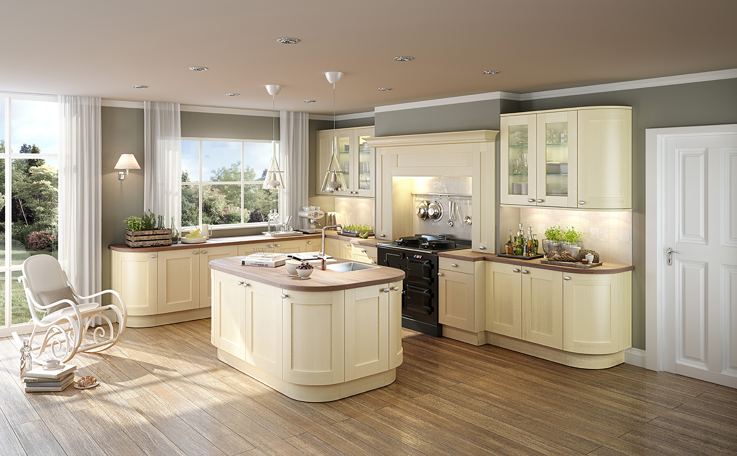 Our german made kitchens built to last for Küche nussbaum