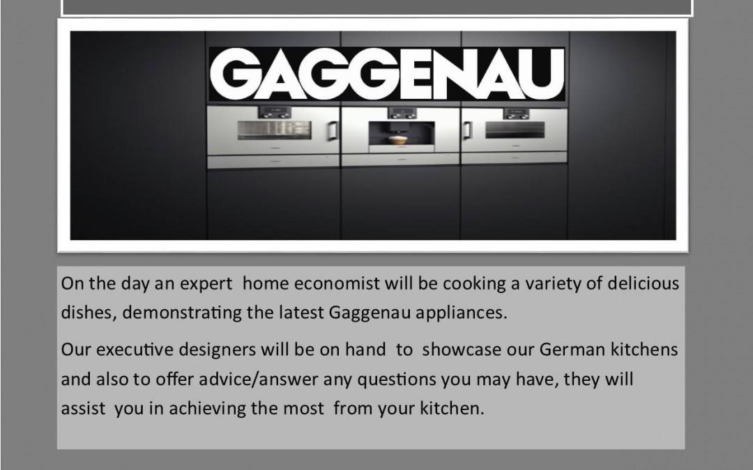Gaggenau appliances event