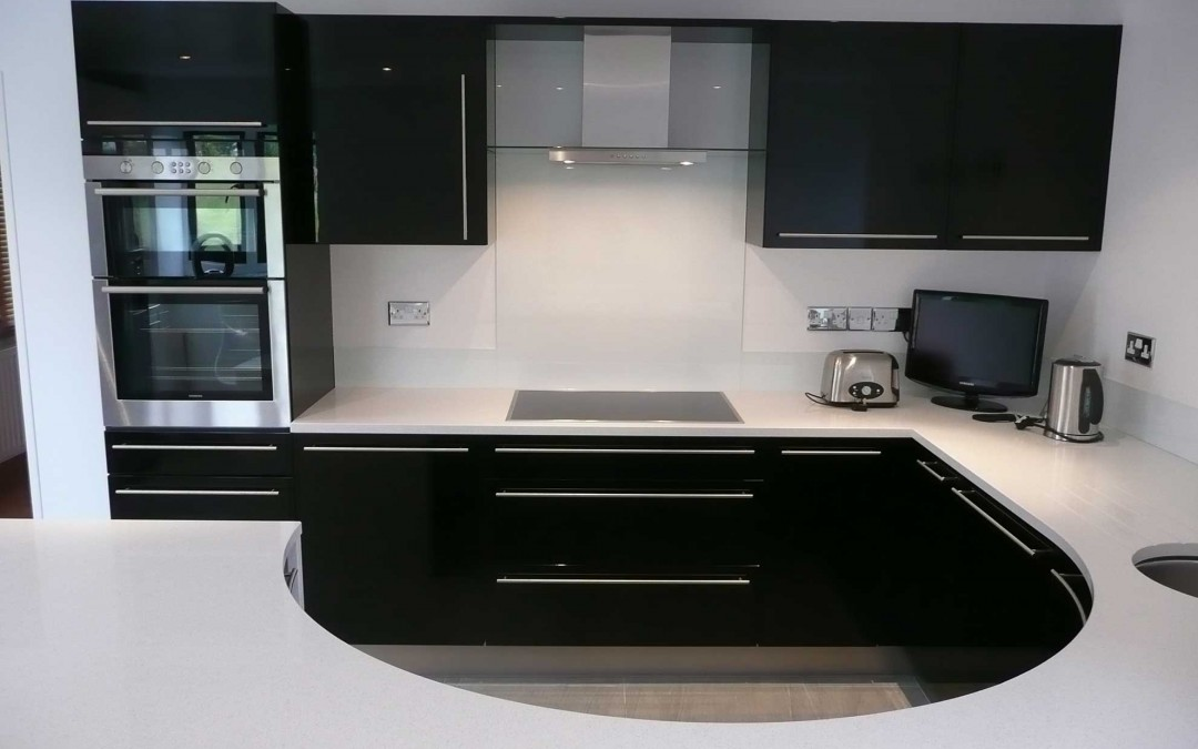 Compact High Gloss Kitchen