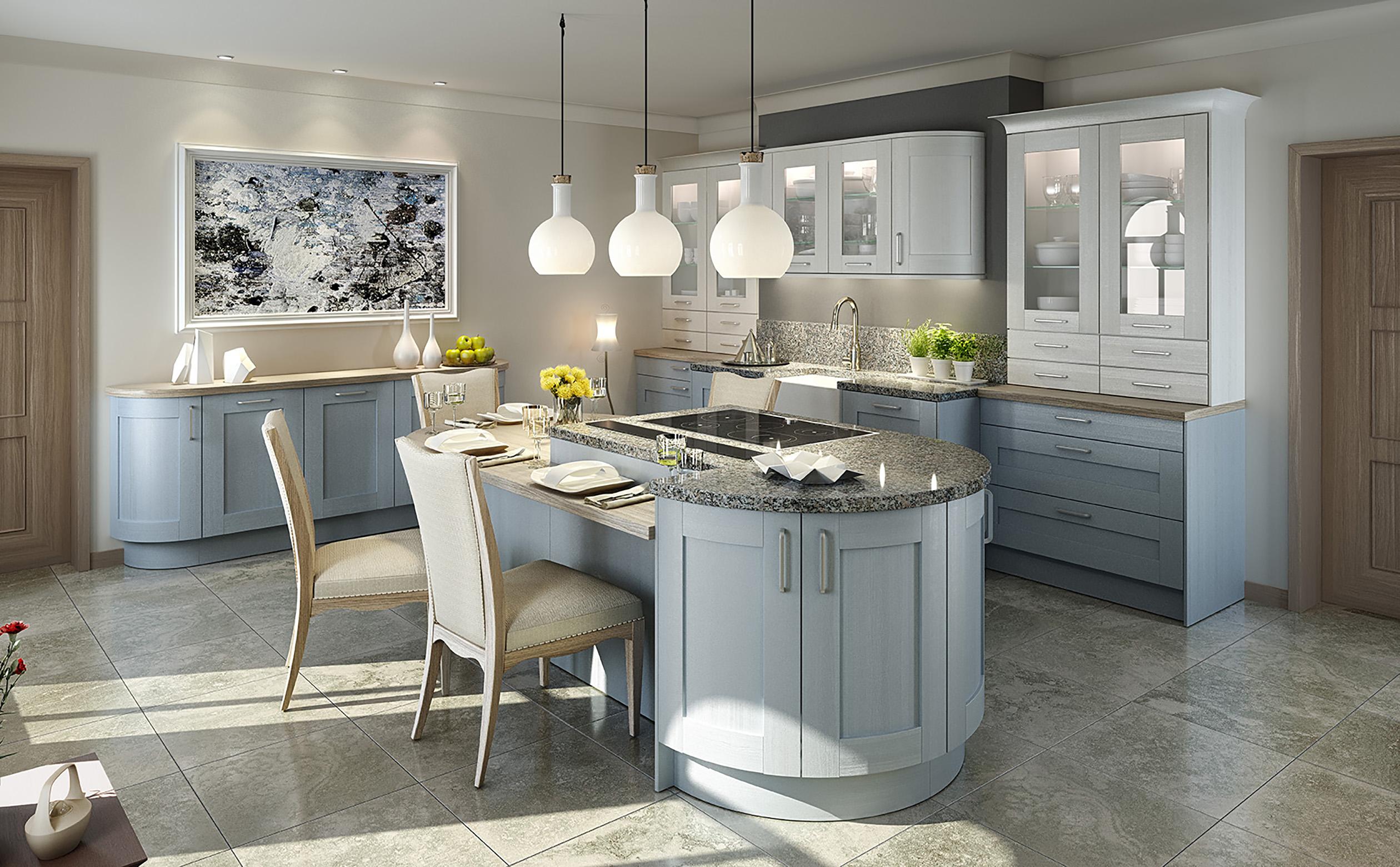 kueche blau p3 ptc kitchens