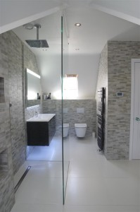 Luxurious designer bathroom Rochester