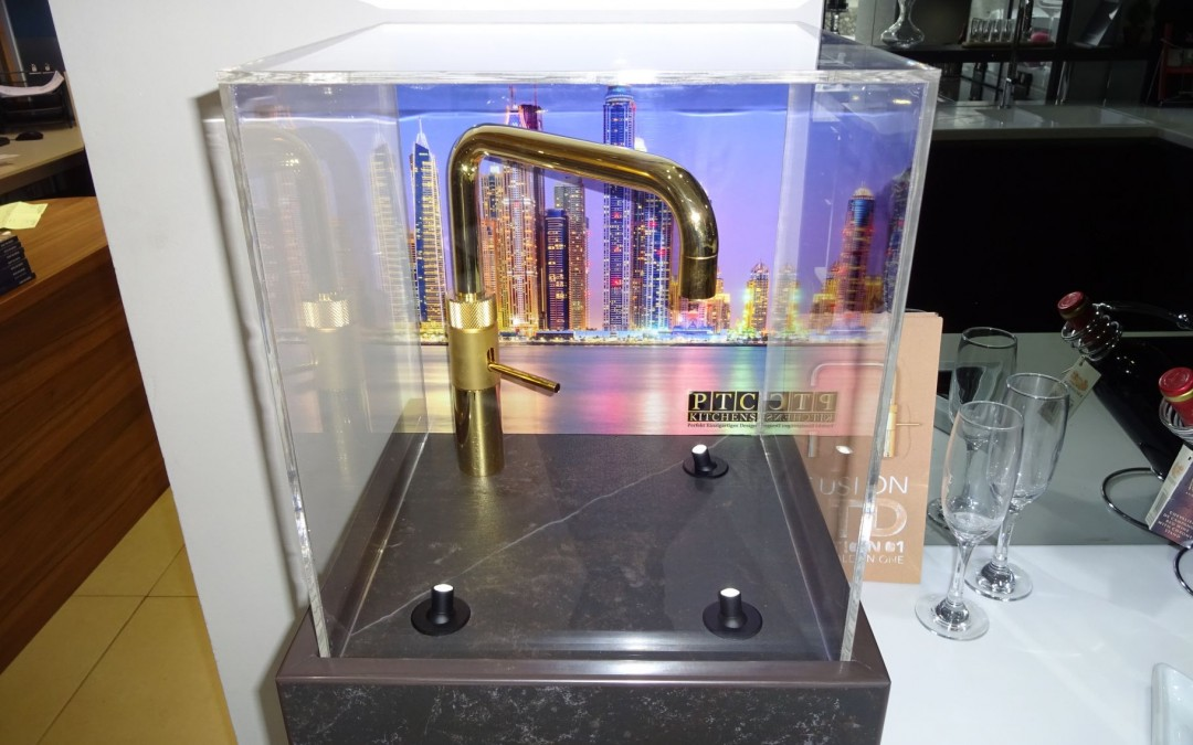 Quooker: The Golden One boiling water tap is now on display in our Rochester showroom!