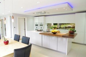 Caesarstone snow Quartz worktops