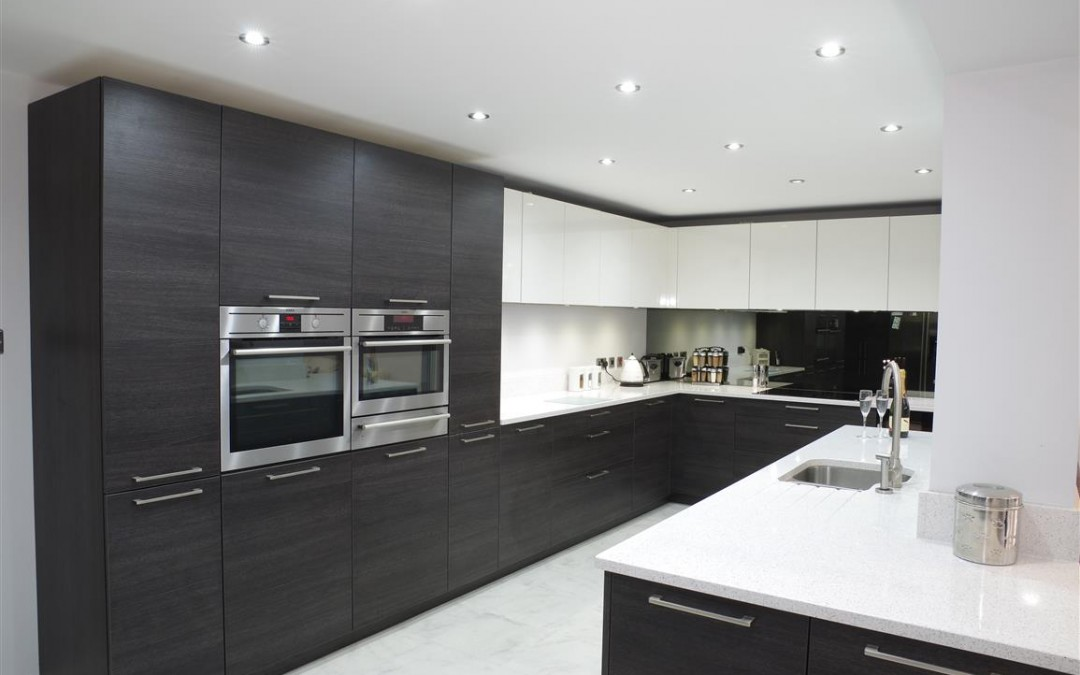 A sleek design, utilising the space provided