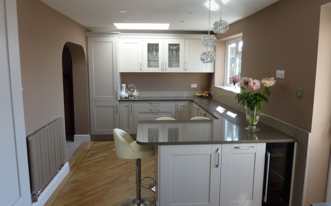 Sneak peek of one of our bespoke finished kitchens