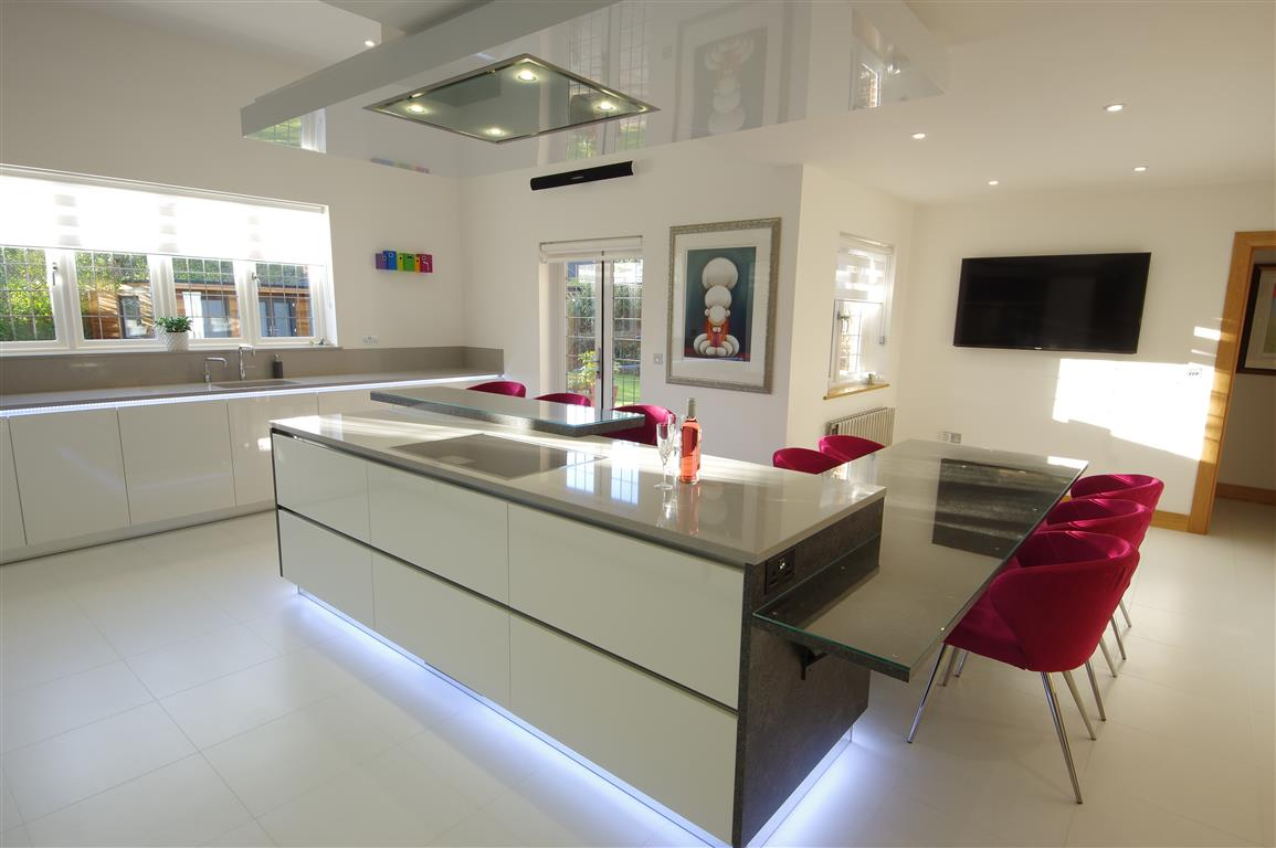 A modern design with quirky features ptc kitchens for Quirky modern kitchen