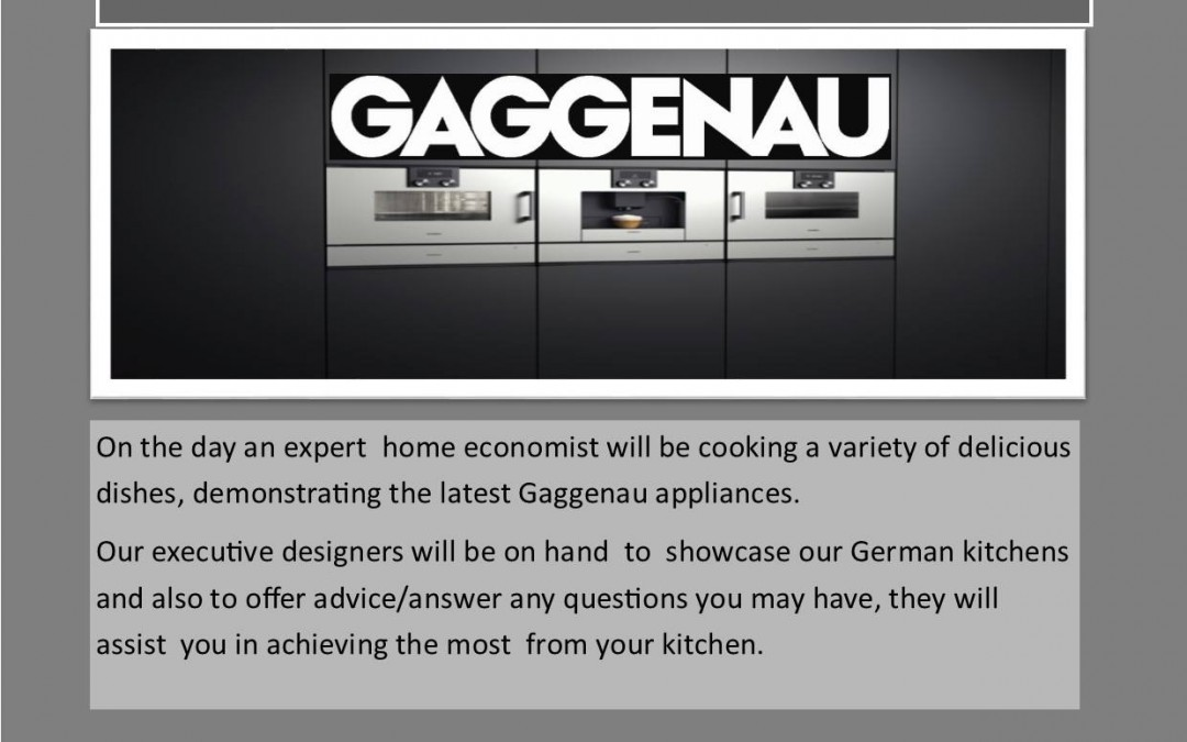 Gaggenau appliances event
