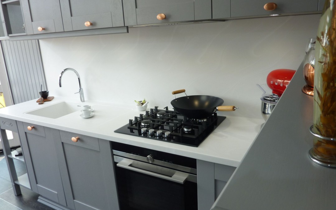 PTC Kitchens sneak peek of our new front display kitchen!