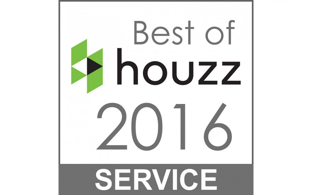 Another best of Houzz customer service award!