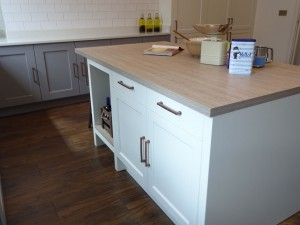 PTC Kitchens presents a newly installed traditional kitchen in an apartment