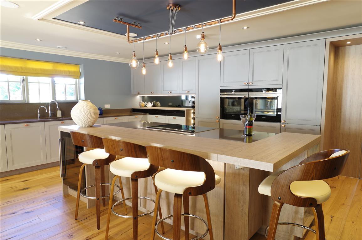 Contemporary Design with Copper Accents