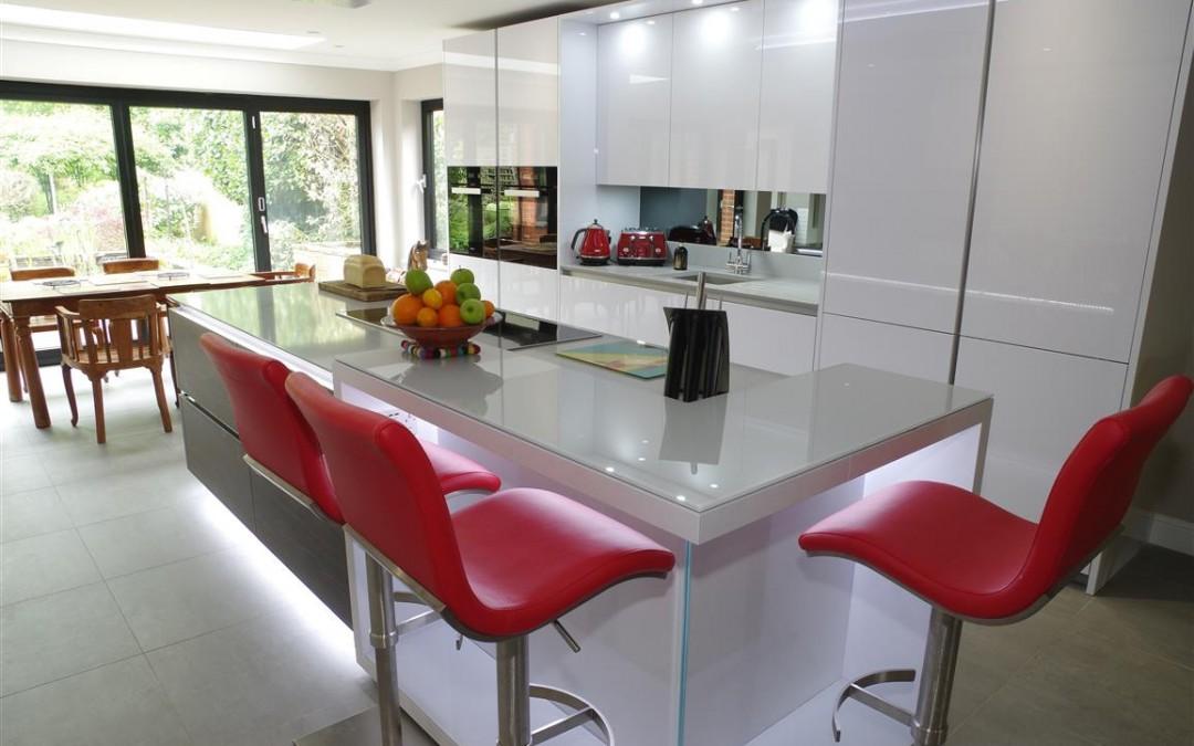 Polar White Kitchen