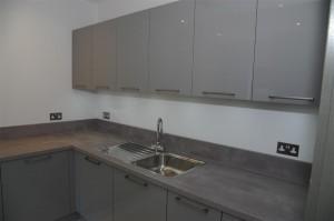 Pearl Grey Utility Room with Blanco A La Carte Sink & Tap