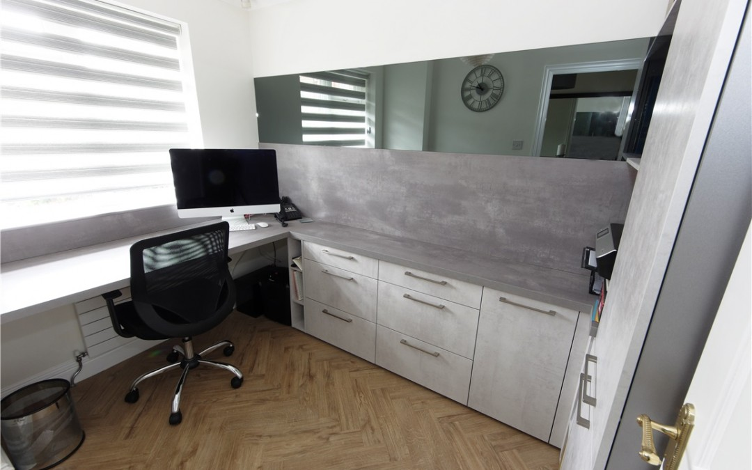 Home Office Design by PTC Kitchens