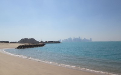 Working away for our luxury project in Doha, Qatar