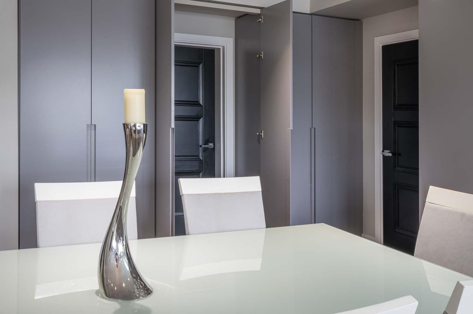 secret doors in kitchen