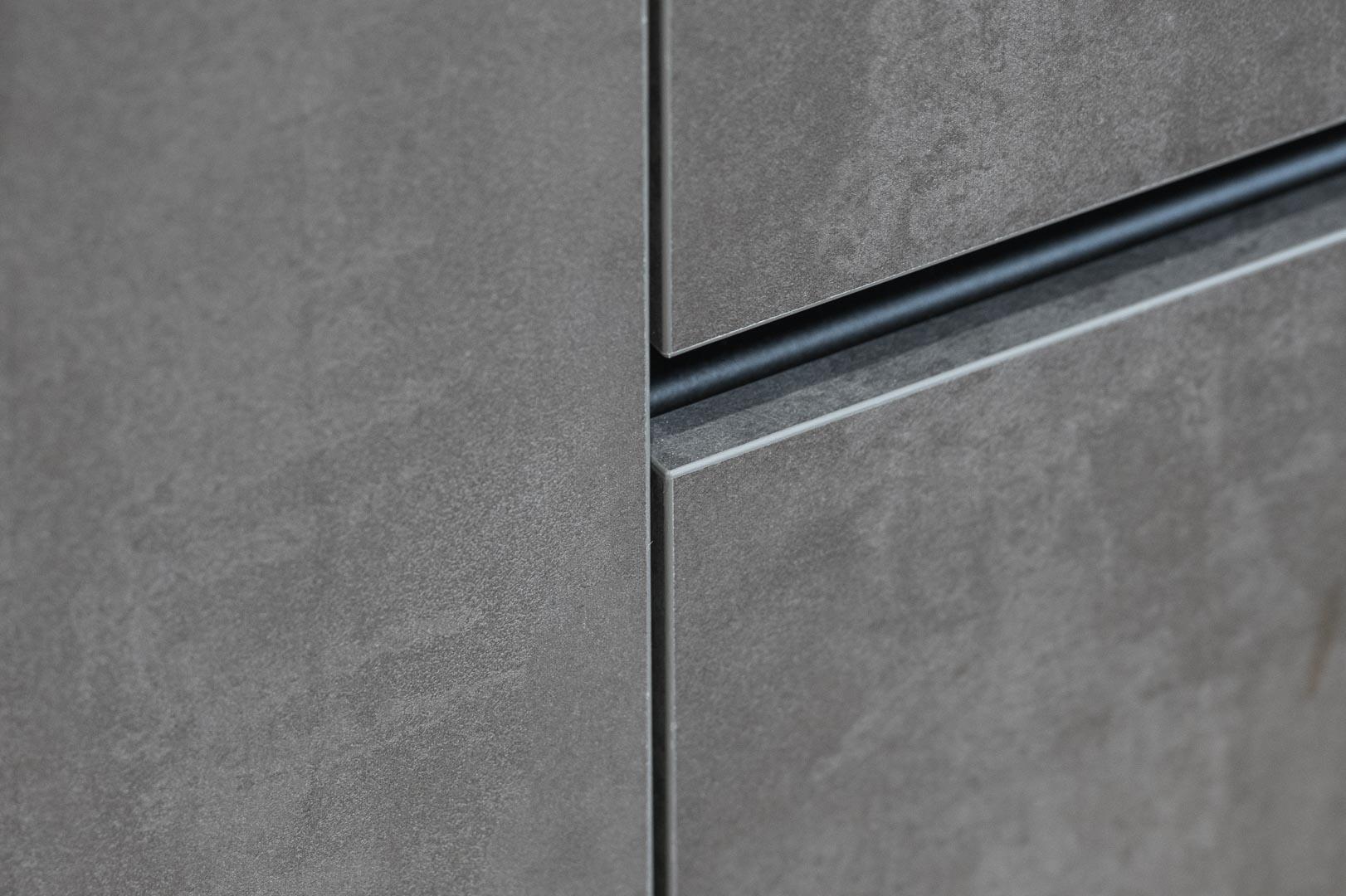 kitchen handless detail